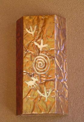 Petroglyphs Lighting Sconce