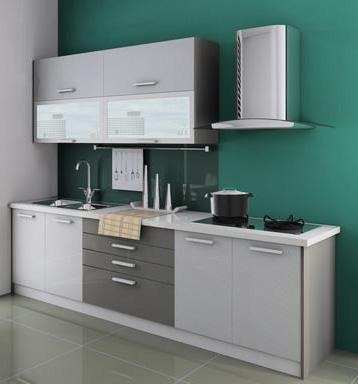 Single Line Kitchen Layout