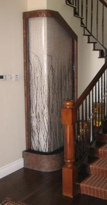Custom Birch Branch Waterfall